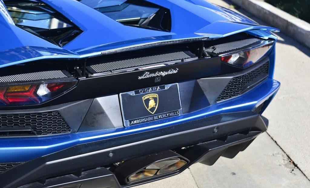 2019 Lamborghini Aventador S Roadster Lamborghini