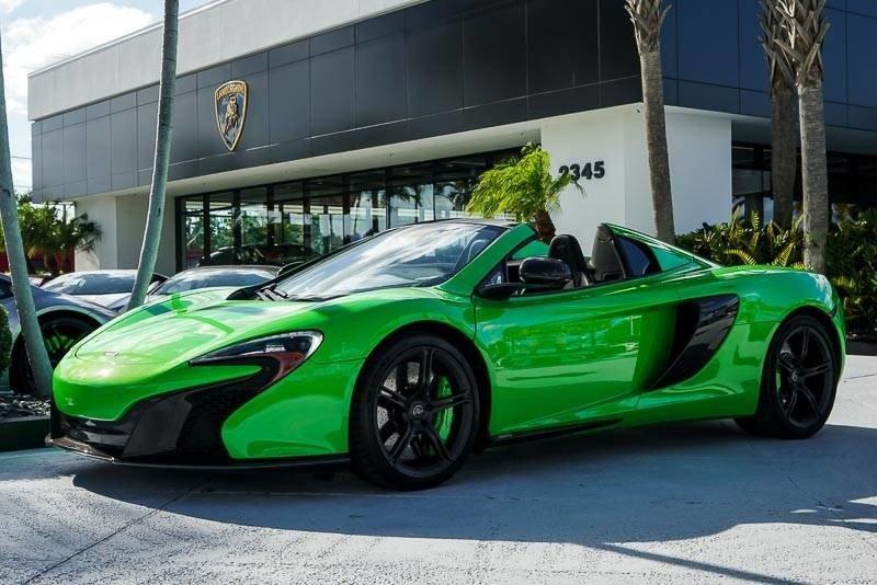 McLaren 650S Convertible – Green