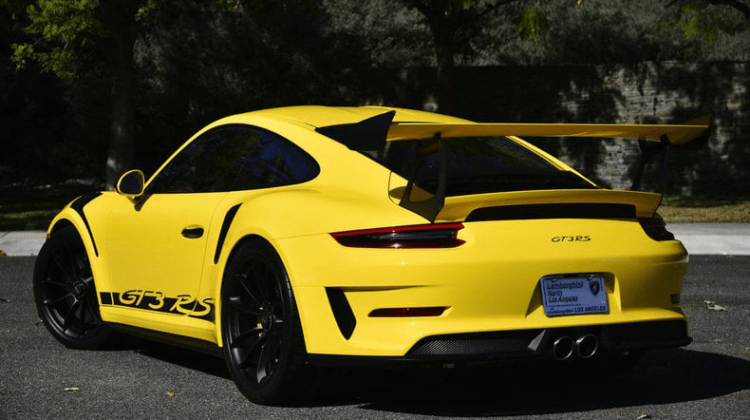 Porsche 911 GT3 RS Coupe